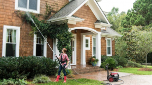 home pressure washing
